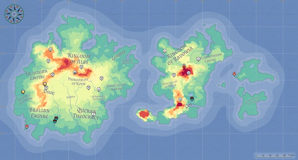 Azgaar's Fantasy Map Generator