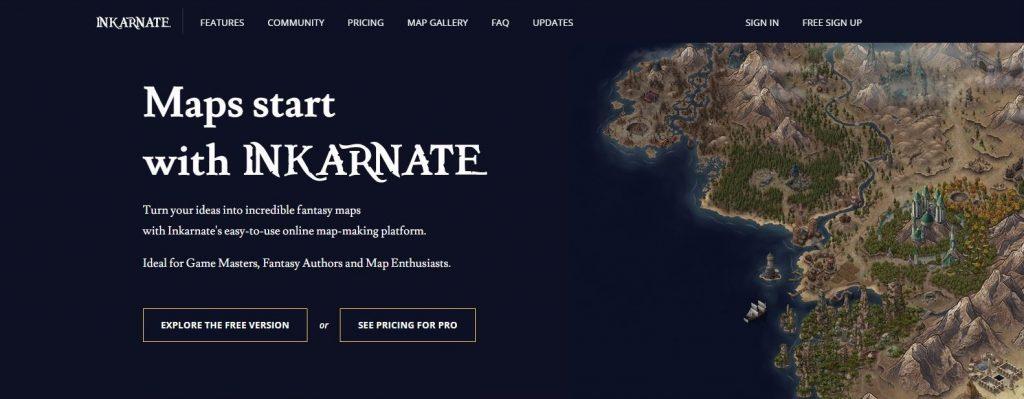 Inkarnate Map Creator